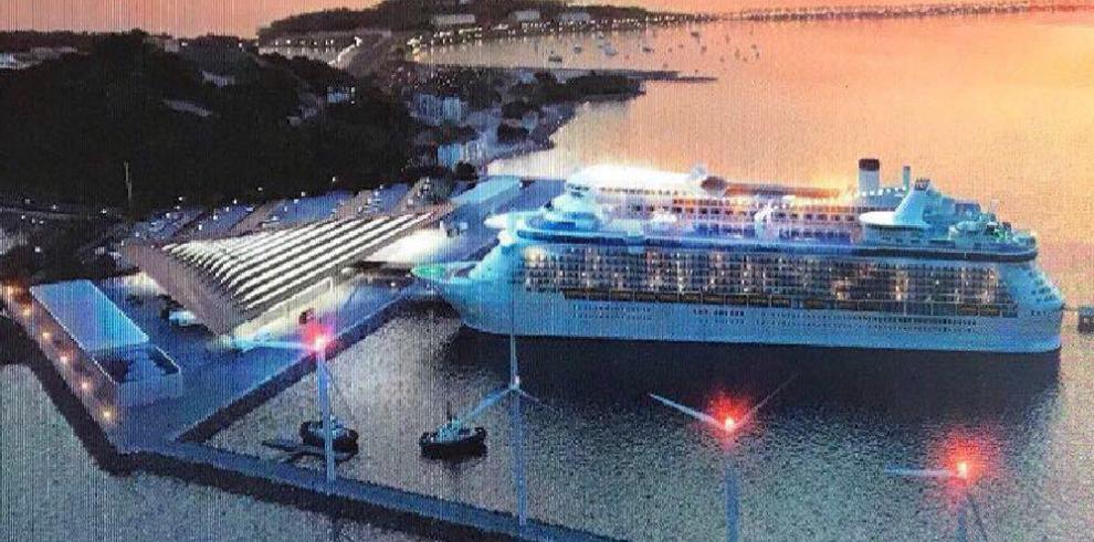 En octubre estará operativa la Terminal de Cruceros en Amador