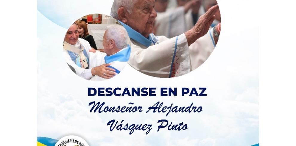 Fallece monseñor Alejandro Vásquez Pinto