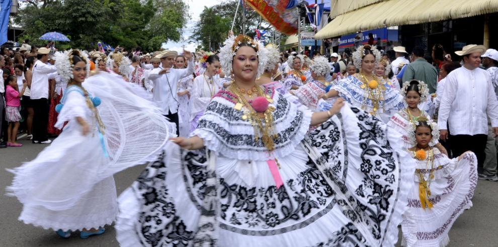 Anuncian agenda del Festival Nacional de la Pollera 2019