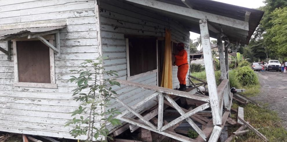 Más de cien viviendas afectadas en Chiriquí tras sismo del domingo
