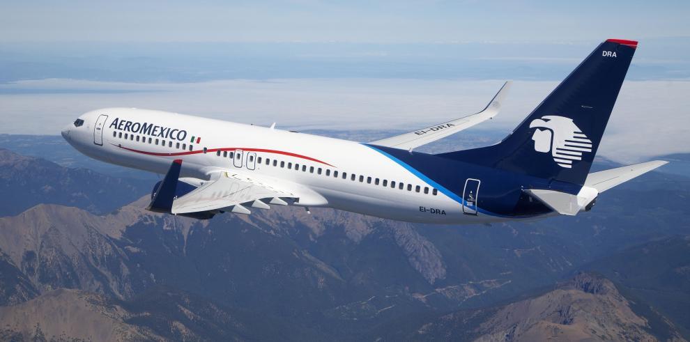 Compañía Aeroméxico suspende vuelos de sus seis aviones 737 Max 8
