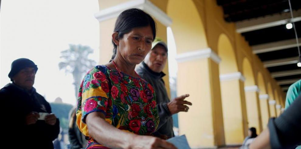 El pueblo indígena de San Juan Sacatepéquez de Guatemala se aboca a las urnas