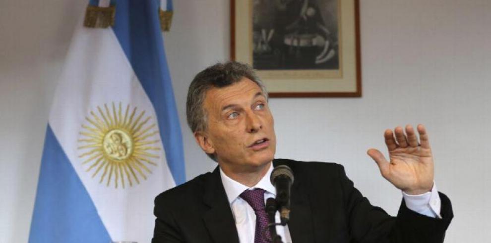 Macri afirma que el apagón es un
