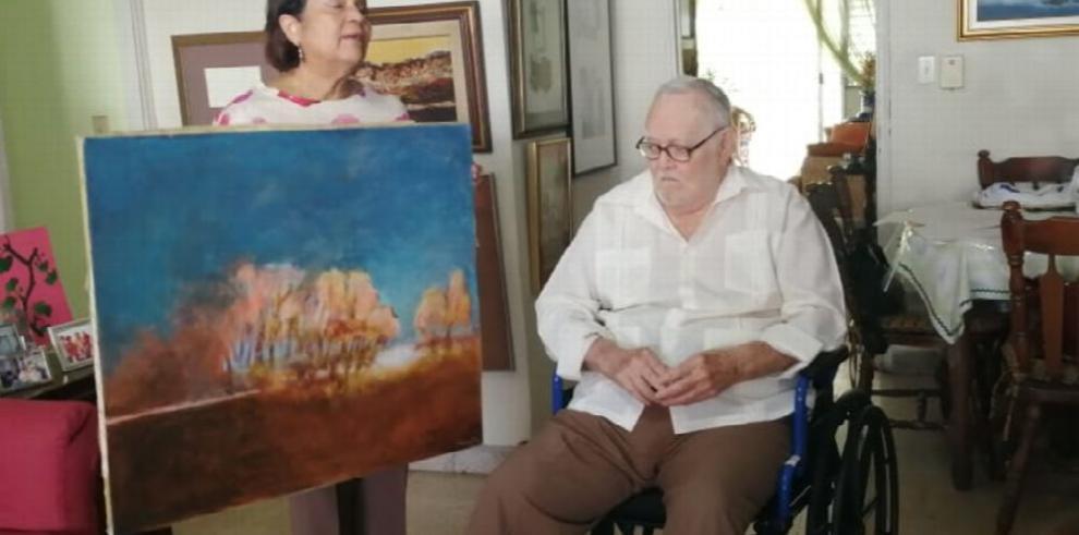 El maestro Calvit dona obra a la Binal