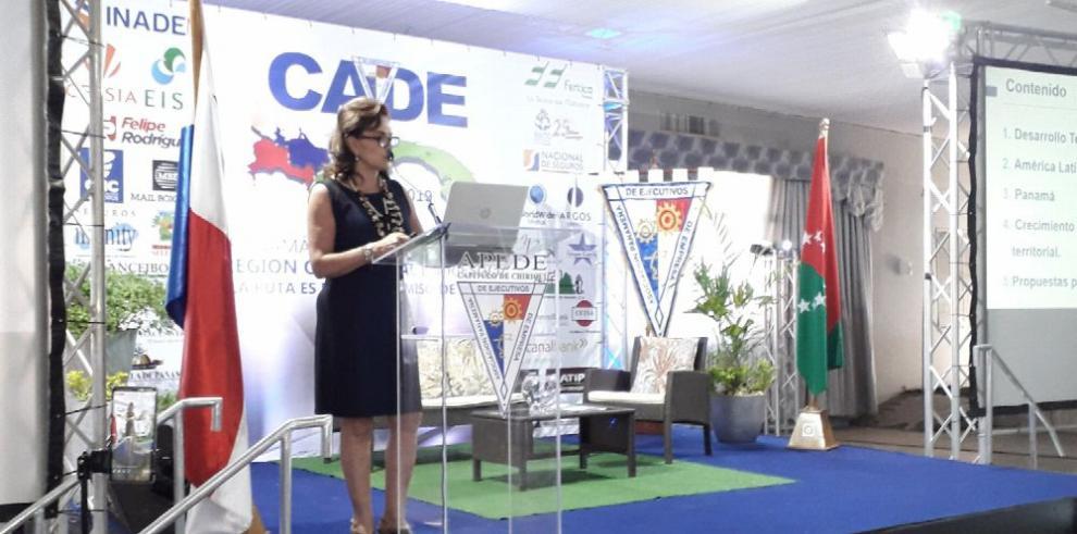 CAF expone su visión de Panamá en CADE Chiriquí 2019
