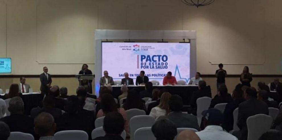 Solo cuatro de siete aspirantes firman Pacto por la Salud