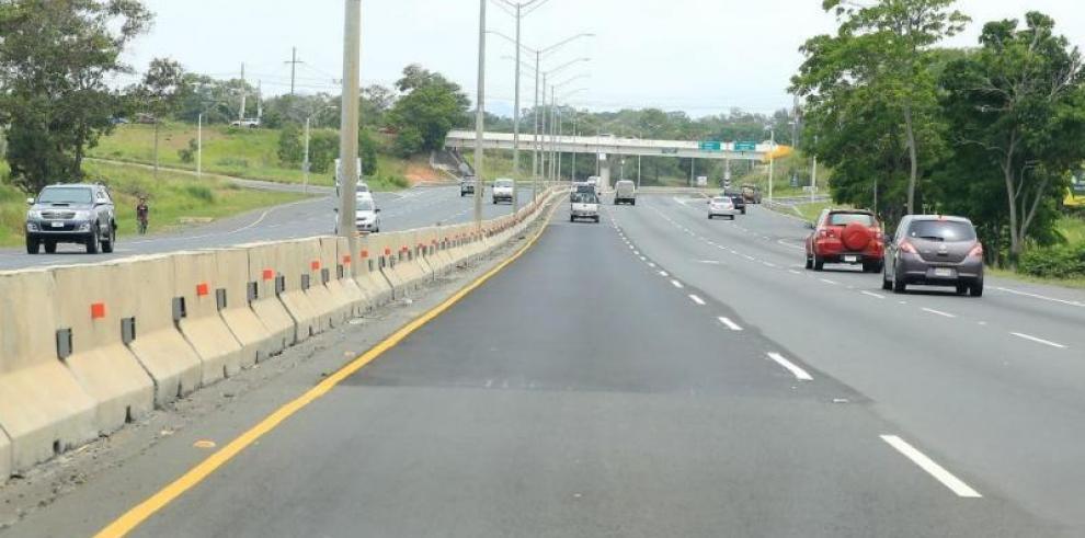Cerrarán la autopista Arraiján-La Chorrera desde Montelimar hasta Costa Verde