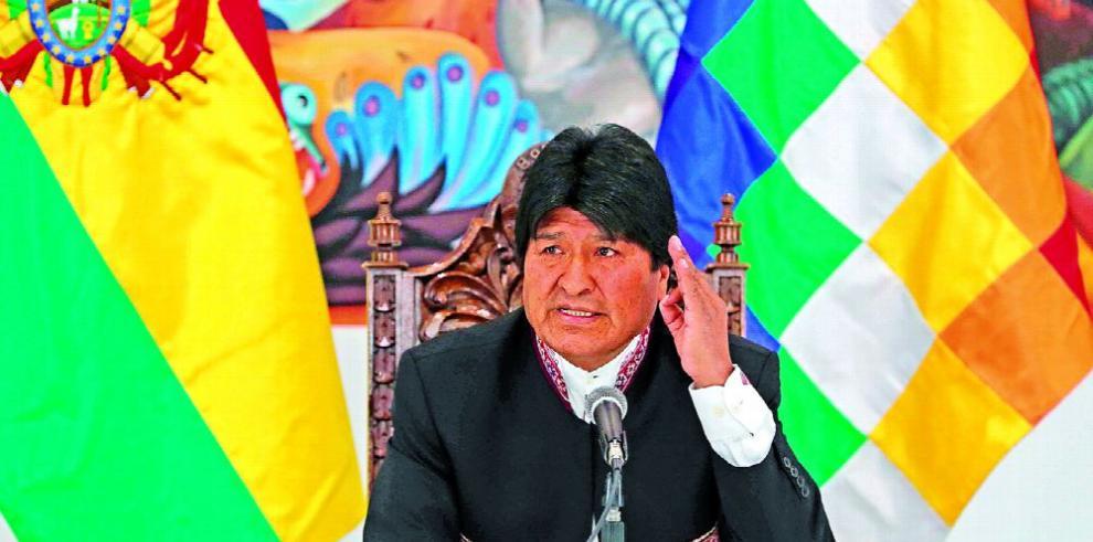 Oposición rechaza reelección de Evo Morales