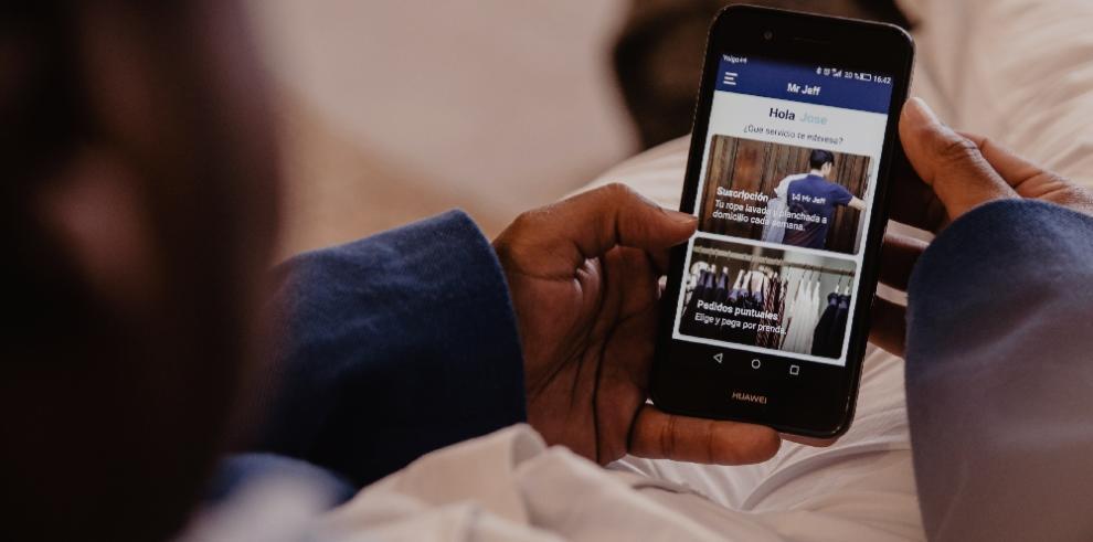 Lanzan en Panamá Mr Jeff el 'app'que lava, plancha y entrega a domicilio la ropa