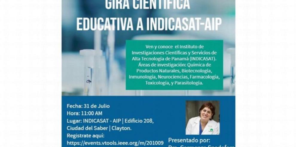 Recorrido científico con Carmenza Spadafora