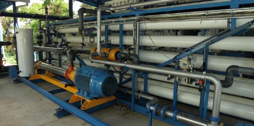 Idaan gestiona la compra de nuevas membranas desalinizadoras para Taboga