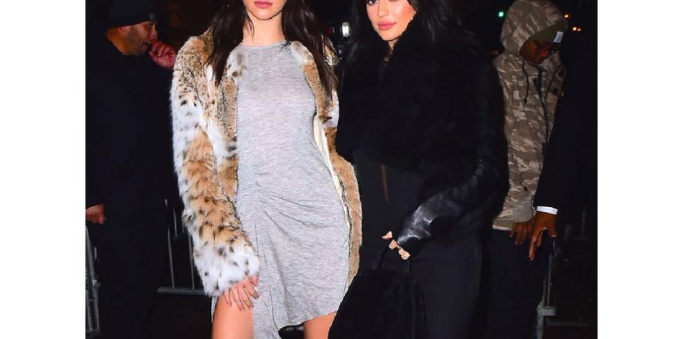 Kendall y Kylie 'traicionan' a su cuñado Kanye para irse de fiesta con Drake