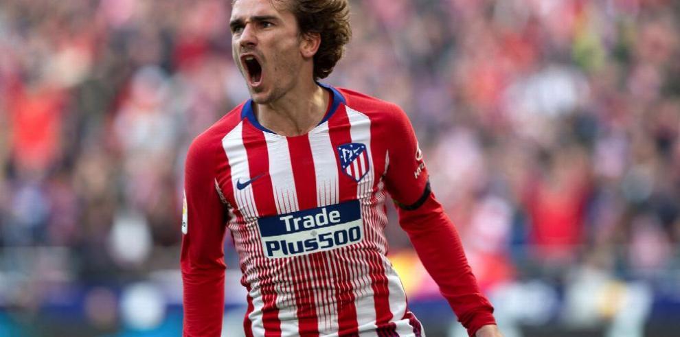 Griezmann llega a 90 goles con el Atlético fútbol
