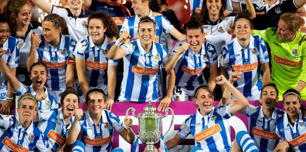 La Real Sociedad conquista la Copa de la Reina