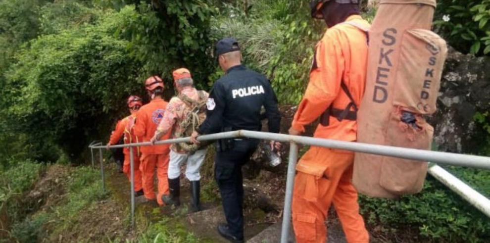 Sinaproc inicia la búsqueda de los mexicanos desaparecidos en Boquete