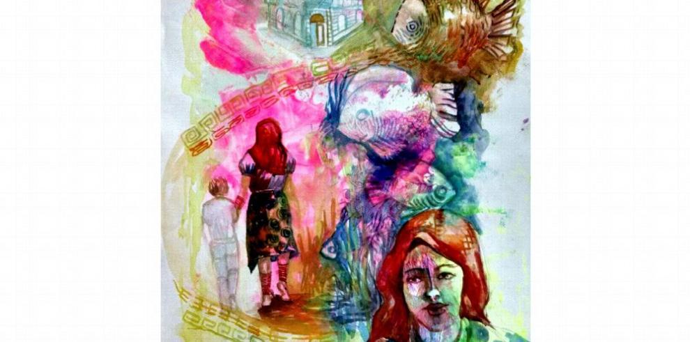 Acuarelistas panameños presentan obras en México