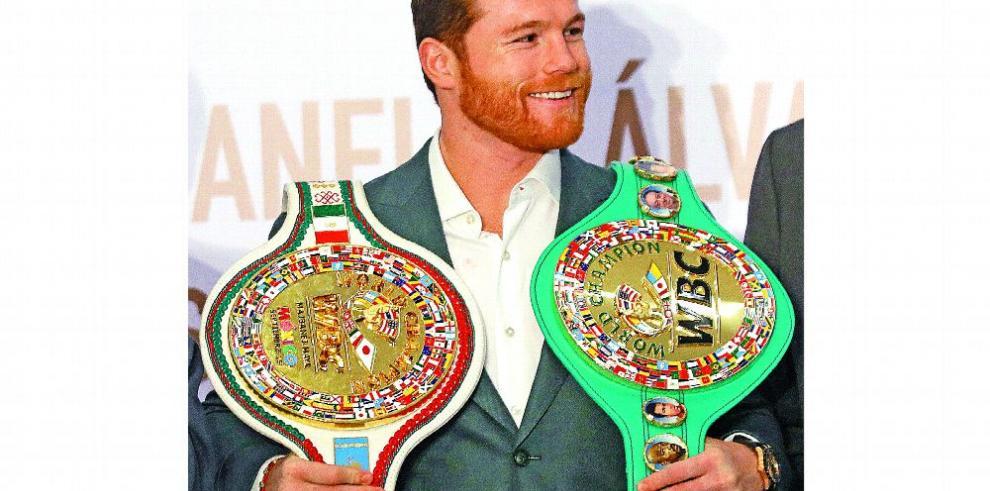 'Canelo' y Jacobs se instalan en Las Vegas para pelea del sábado