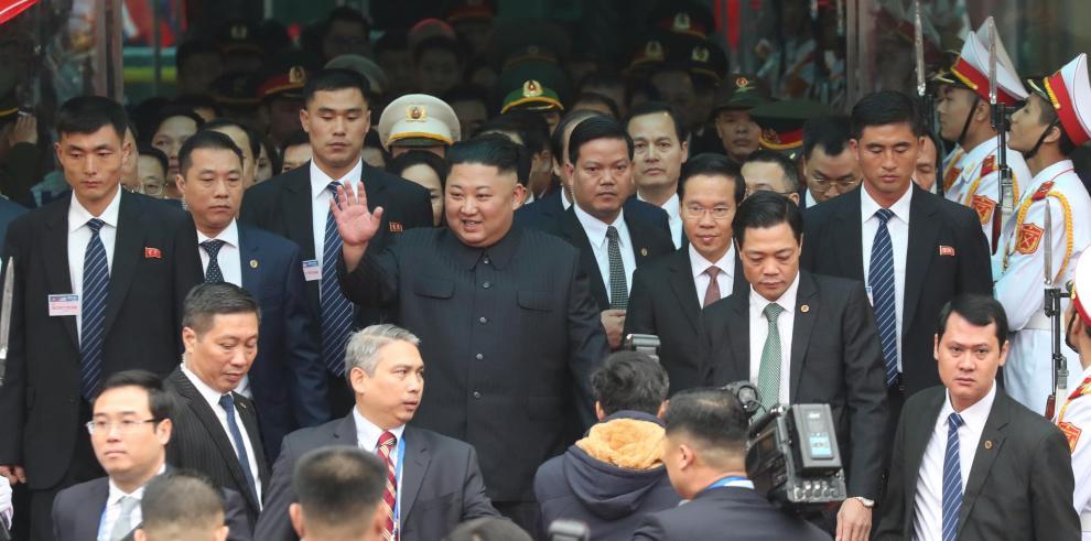 Kim Jong-un llega a Vietnam para su segunda cumbre con Donald Trump
