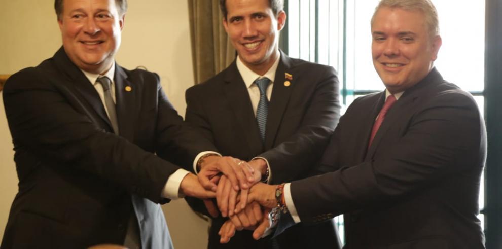 Varela reitera apoyo a Guaidó y se suma a presiones contra Gobierno de Maduro