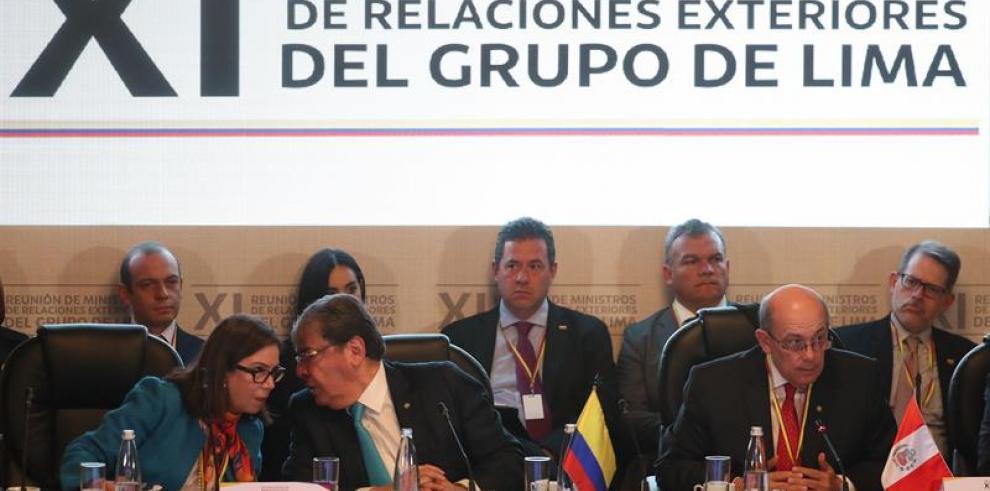 Perú pide salida pacífica a crisis de Venezuela