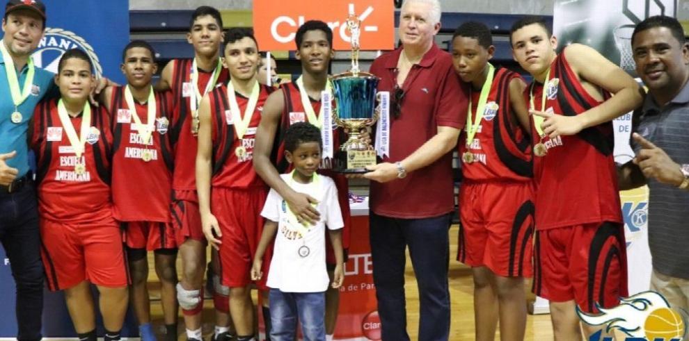 Enrico Fermi y Escuela Americana, consagrados en el baloncesto Kiwanis