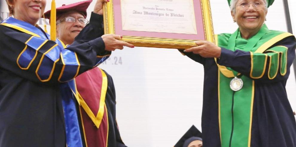 Isae Universidad concede doctorado honoris causa a cuatro ilustres panameños