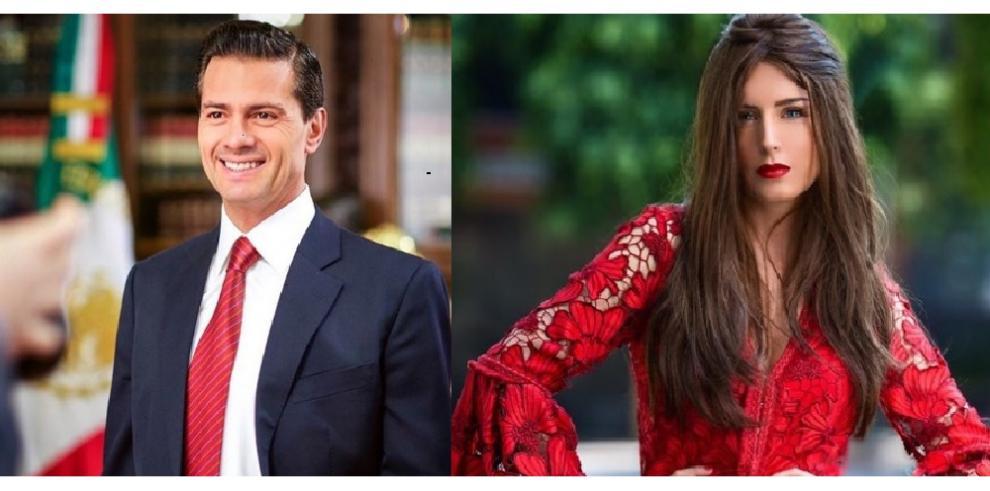 Expresidente mexicano Peña Nieto aparece con su nueva pareja bailando cumbia