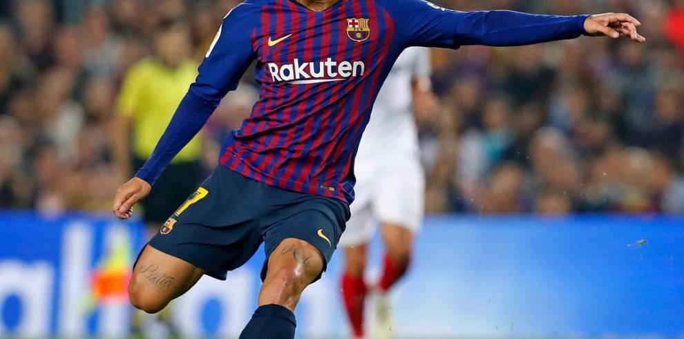 Coutinho vuelve al equipo a tres días de la final de Copa