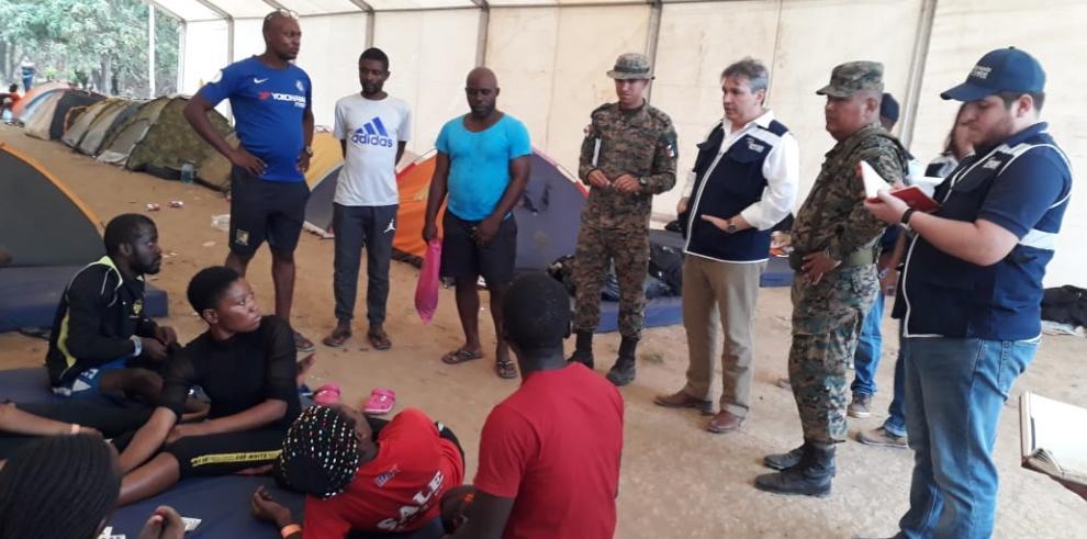 Defensoría del Pueblo constata situación de migrantes en Darién