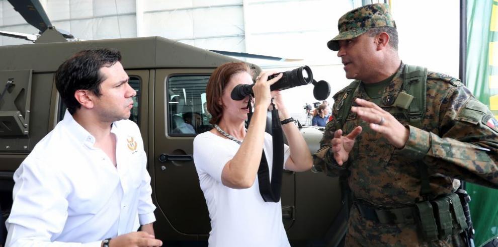 EE.UU. y Panamá inauguran hangar en base aérea de Darién