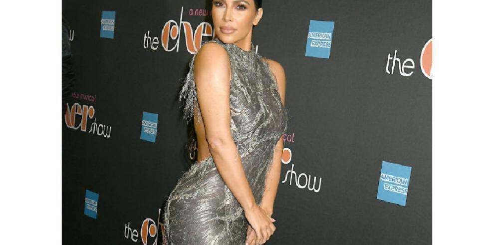 Kim Kardashian también tiene días con 'mala cara'