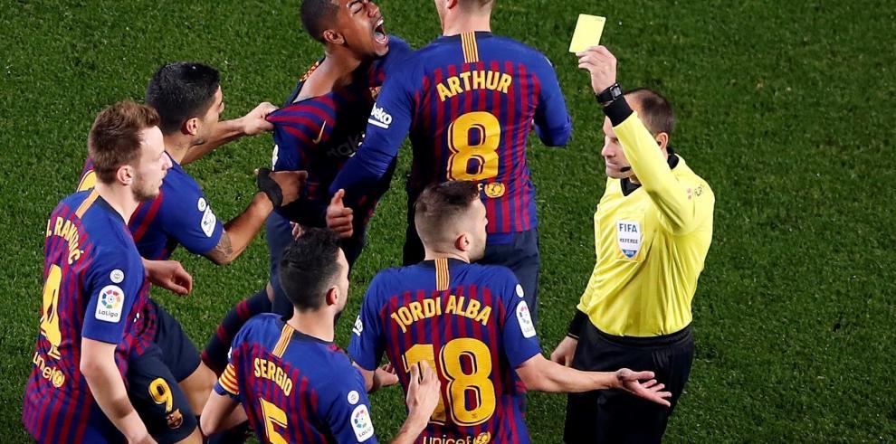 Barcelona y Real Madrid empatan en la ida de las semifinales de la Copa del Rey