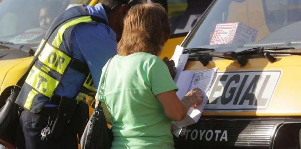 ATTT inicia el período de inspección de buses colegiales