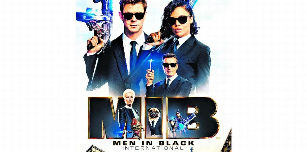'Men in Black', ahora internacional