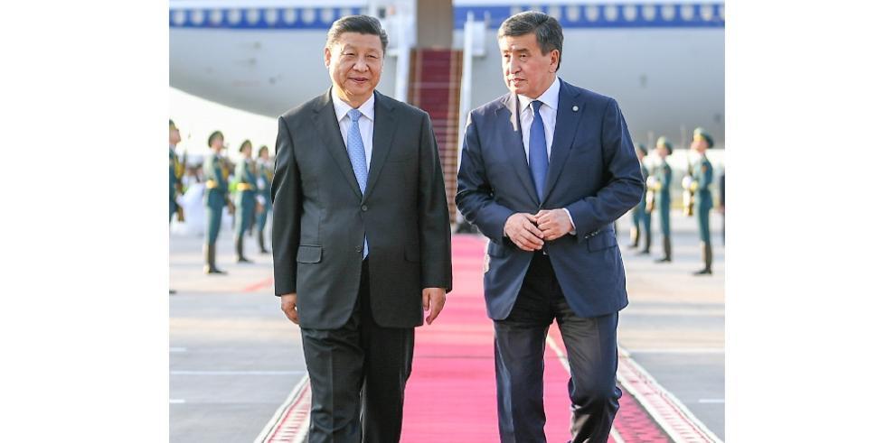 China y Kirguistán acuerdan elevar lazos hasta un nuevo nivel