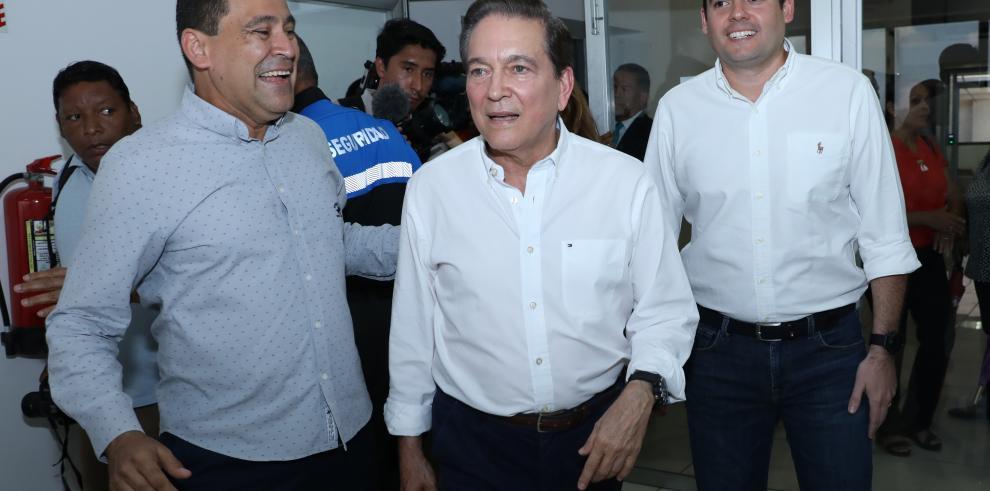 'Este triunfo ya es irreversible', Laurentino Cortizo