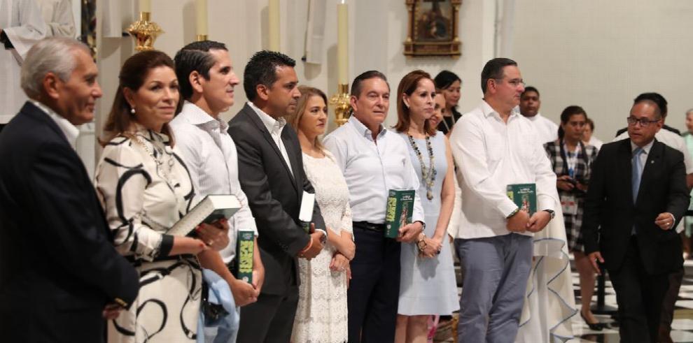 Misa por las elecciones Generales , en la Catedral Basílica
