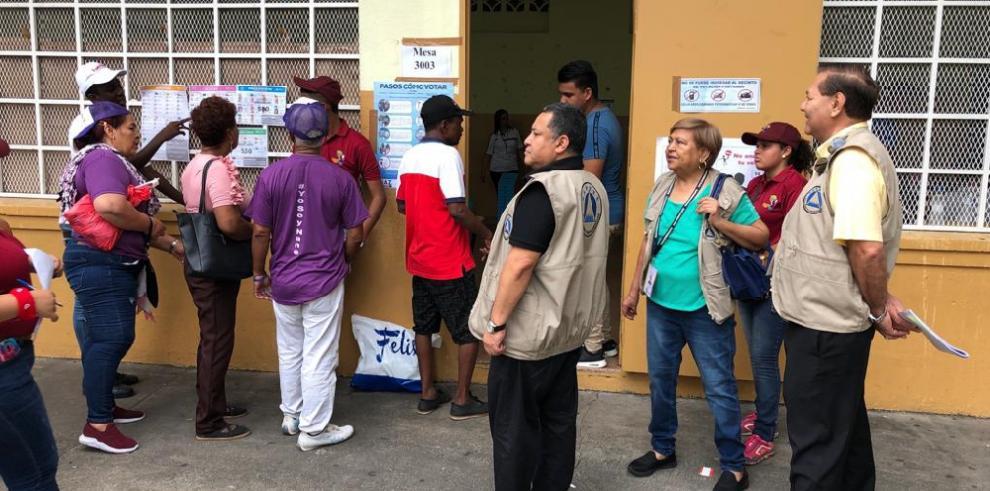 Misión del Parlacen verifica los centros de votación en las elecciones 2019