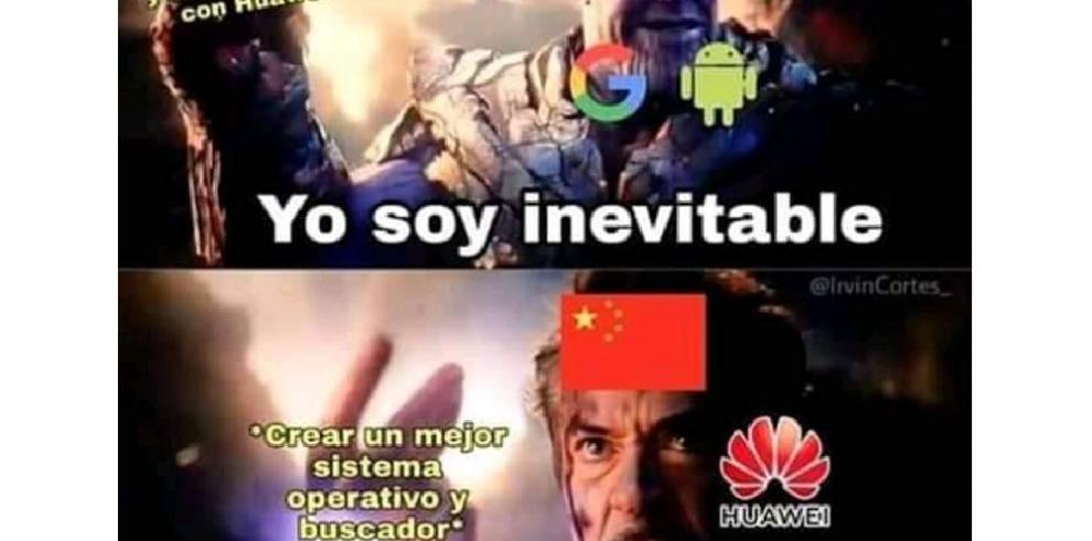 Crisis de Huawei desató una ola de memes
