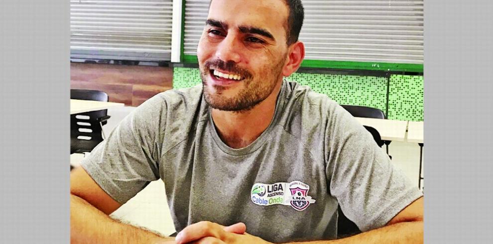 Patricio Sampó: 'Quiero cumplir el sueño de regresar a Chiriquí a la primera división'