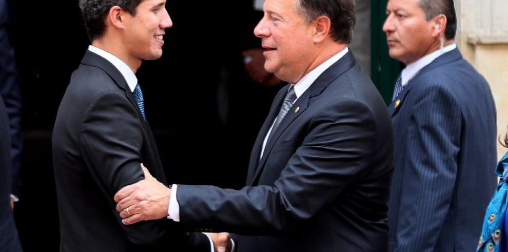 Varela respalda a Guaidó y apoya presión a Maduro