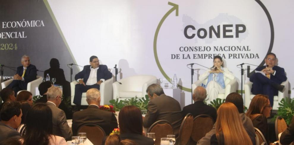 Conep pone el tema económico en la agenda de candidatos presidenciales