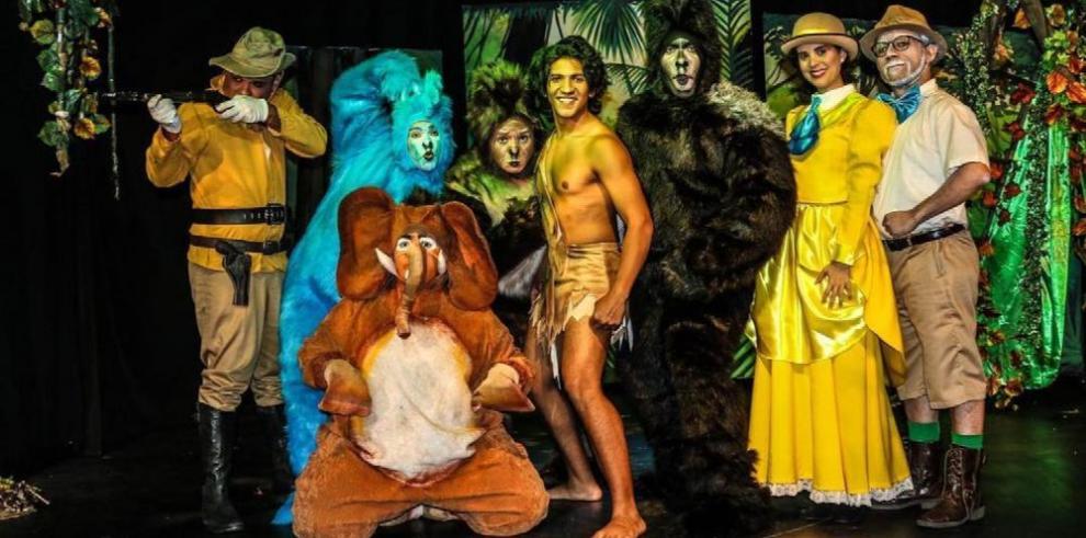 Grupo Bambalinas recrea la historia de Tarzán