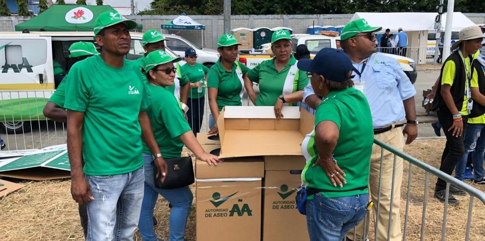 AAUD inicia limpieza, tras Vigilia y Misa de Envío de la JMJ