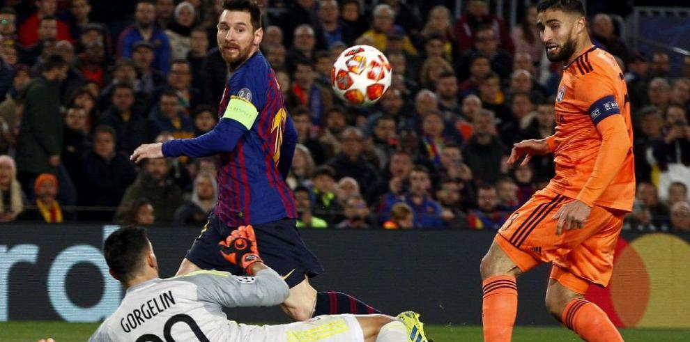Barcelona y Liverpool completan el cuadro de los cuartos de final