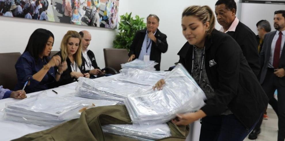 Tribunal Electoral recibe las 40 actas para la Presidencia