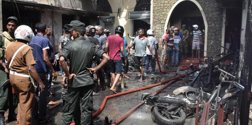 Panamá condena atentados que dejaron al menos 207 muertos en Sri Lanka