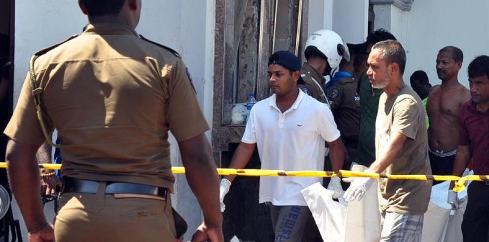 Sri Lanka vive un sangriento Domingo de Resurrección con más de 200 muertos
