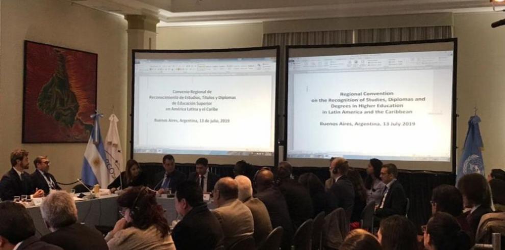 Veintítrés países firman convenio que reconoce estudios a nivel regional
