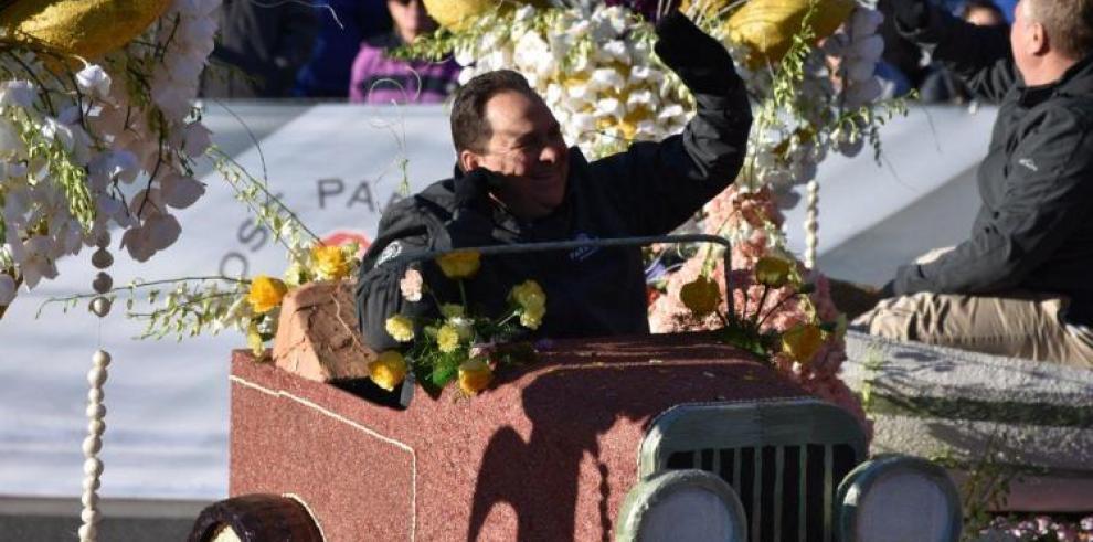 El Desfile de las Rosas rinde homenaje a la música como